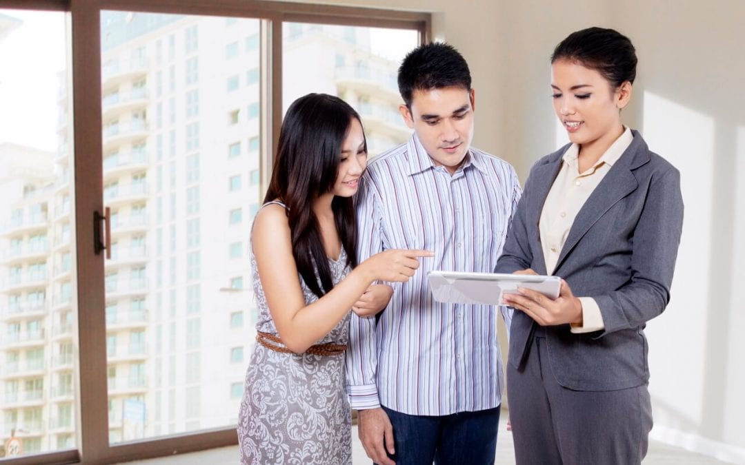 work with a real estate agent