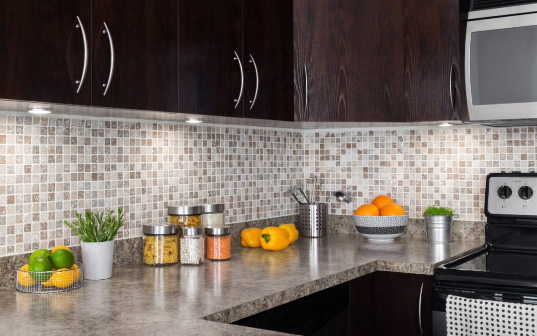 weekend home improvement projects include installing a backsplash